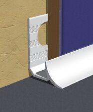 Genesis Internal Tile Trim PVC In White For Worktops 9mm x 2.5m x 5
