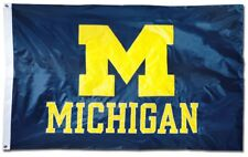 University of Michigan Wolverines Flag Large 3'X5' NCAA FREE SHIPPING