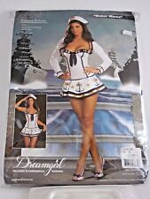 Plus Size XL Women's Military Navy Sailor Costume Cosplay Halloween Party Sexy