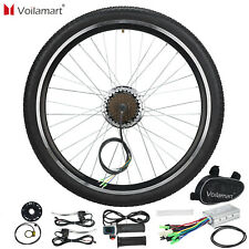 36V 250W Rear Wheel Electric Bicycle Motor Conversion Kit E Bike Cycling Hub 26""