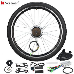 "Voilamart 36V250W Rear Wheel Electric Bicycle Conversion Kit E Bike 26""Motor Hub"