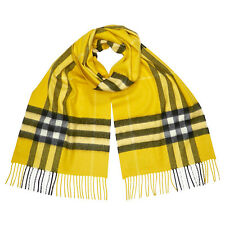 Burberry The Classic Cashmere Scarf - Gorse Yellow