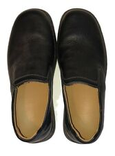 10 M Clarks Black Leather Active Air Slip-On Comfort Loafers Shoes NWOB? #37841