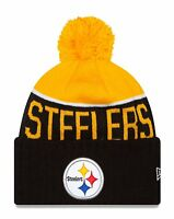 Pittsburgh Steelers Players Sideline Sports Knit Beanie Cap Hat NFL New Era