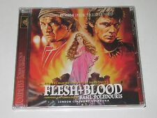 FLESH + BLOOD/SOUNDTRACK/BASIL POLEDOURIS(INTRADA 153)CD ALBUM NEU