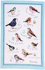 "Ulster Weavers, ""Bird Song"" by Madeleine Floyd, Pure linen printed tea towel"