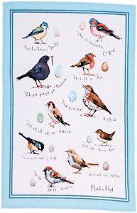 "Ulster Weavers, ""Bird Song"" by Madeleine Floyd, Pure cotton printed tea towel"