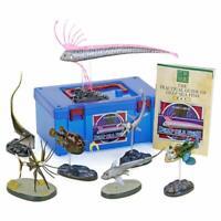 Colorata Real Figure 3D Visual Dictionary Box Deep Sea Fish from Japan  F/S New