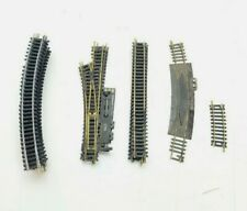 Vintage HO Scale Lot of 30 Track Sections (Switches, Straight, Curved) atlas+