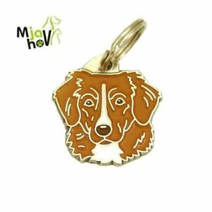Dog ID Tag, Nova Scotia duck tolling retriever - toller, Personalised, Engraved