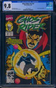 Ghost Rider v2 #12 CGC 9.8 Doctor Strange appearance.