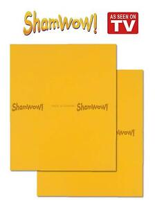 Shamwow Super Absorbent Cleaning Drying Towels Original Sham-wow - 2x Large