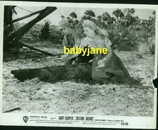 GARY COOPER MARI ALDON VINTAGE 8X10 PHOTO 1951 DISTANT DRUMS R1956