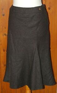 M&S, Ladies, Cocoa, Brown, Wool, Casual, Office, Skirt,  size 12