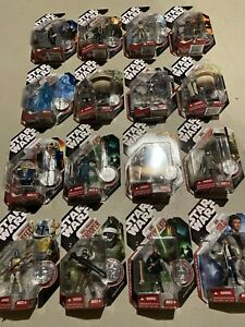 Star Wars 30th Anniversary Collection #1 TAC Coin 2007 Saga Legends Lot of 16