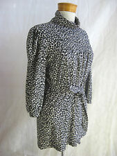 Simona size XL Animal Print Poly/Elastane Tunic Top
