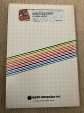 "Rare 1981 Apple II Artist Designer C2H0004 5.25"" Floppy Disk Software"