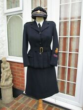 More details for ww2  british red cross vad nurse woman's service uniform, jacket, skirt & hat