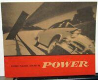 1955 Dodge Dealer Brochure Red Ram V8 & Super Red Ram Power