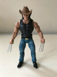 Marvel Legends 6in Wolverine Cowboy Hat Logan 80 Years Hasbro 2019 New Loose NR