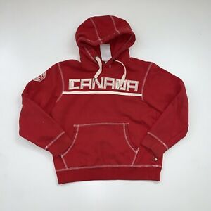 Hudson Bay Co. Canada Hoodie Sweatshirt Adult Small Red Olympics