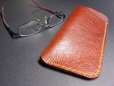 Leather Eye Glasses case,  Hand stitched,  Handmade, Eye Glasses sleeve case