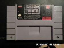 RoboCop vs. The Terminator (Super Nintendo Entertainment System, 1993) SNES Game