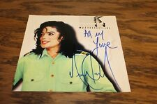 Michael Jackson Signed Mint Condition