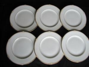Wedgwood Cavendish R4680 Pattern 6 x Dinner Plates 10.75 inches (B)