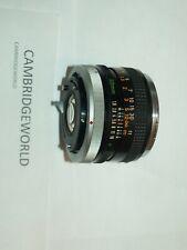 50mm F1.8 Canon Fd Prime Objektiv mit Verschluss Metall Halterung Made von
