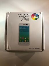 Alcatel One Touch Pop S3 5050S White Unlocked Phone With Box And 4 Covers