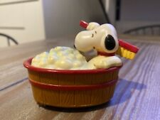 SNOOPY PEANUTS CHARLIE BROWN AVIVA Vtg FRICTION MOTORIZED TOY 1975 (Dated 1958)