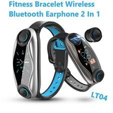 LEMFO LT04 IP67 Waterproof 2 In 1 Fitness Bracelet Bluetooth Sport Smart Watch