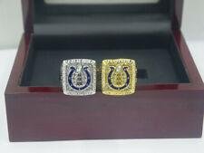 2 Pcs Ring 2006 2006 Indianapolis Colts World Championship Ring !