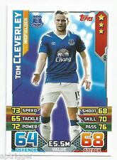 2015 / 2016 EPL Match Attax Base Card (104) Tom CLEVERLEY Everton