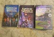 3 KINGDOM KEEPERS Books 1-3 Ridley Pearson Lot DISNEY IN SHADOW At Dawn +