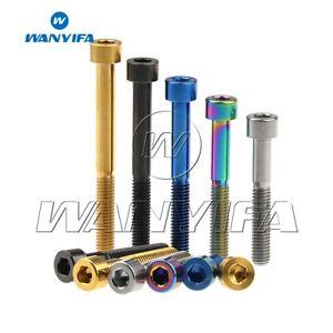 Titanium Bolt M6x10 16 18 20 25 30 35 40 45 50 55 60 70 Socket Cap Head Ti Screw