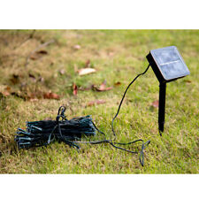200 LJЕ Green Solar battery powered Joyous Happy String Fairy Light lamp Blue JЕ