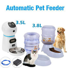 3.5L Automatic Electric Pet Dog Cat Water Fountain Drinking Bowl Dish Dispenser