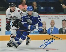 QUINTON BYFIELD SIGNED AUTOGRAPH SUDBURY WOLVES 8X10 PHOTO  EXACT PROOF