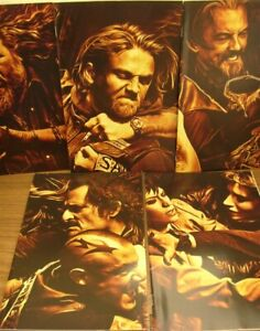 SONS OF ANARCHY 1 2 3 5 6 B BOOM 1:10 VARIANT COMIC LOT GOLDEN COUCEIRO 2013 VF+