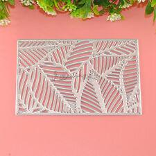 1Pc Leaf Frame Metal Stencil Cutting Dies Craft DIY For Scrapbook Photo Folder