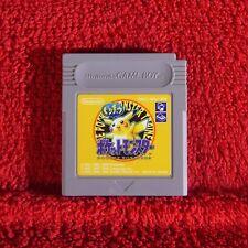 Pokemon Yellow Pocket Monsters-Nintendo Game Boy ~ japonés!!! Original Japón