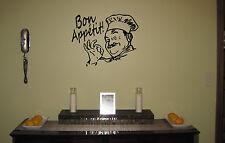 Bon Appetit Decal | Kitchen Wall Sticker | Bon appetit Vinyl Decal | Cook decal