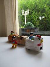 🍓 Playmobil 123 Le Train Des Animaux 6767 Complet
