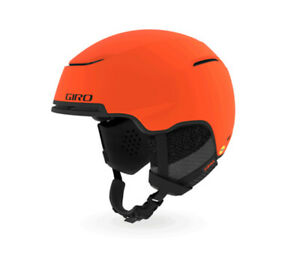 Giro JACKSON Mips Bright Orange Ski Helmet New Snowboard Warm Winter j20