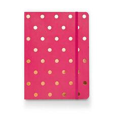 Sugar Paper SALE! Pink & Gold Polka Dots Bound Notebook (£18)