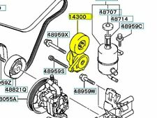 MD373939 TENSIONER ALTERNATOR DRIVE BELT AUTO GENUINE MITSUBISHI OEM
