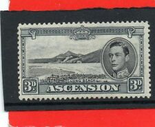Heavily Hinged Ascension Island Stamps