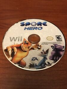 Spore Hero (Nintendo Wii, 2009) Working Game Only